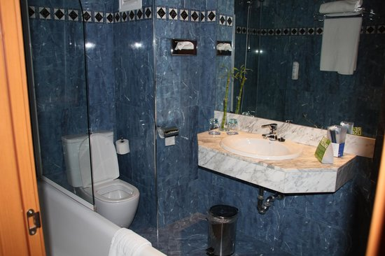 Hotel Sevilla Macarena: the bathroom