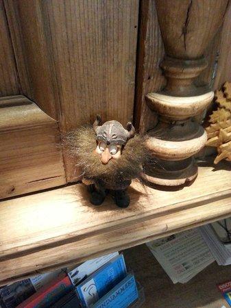 Rivendell Guest House: Familar, cute little Viking!