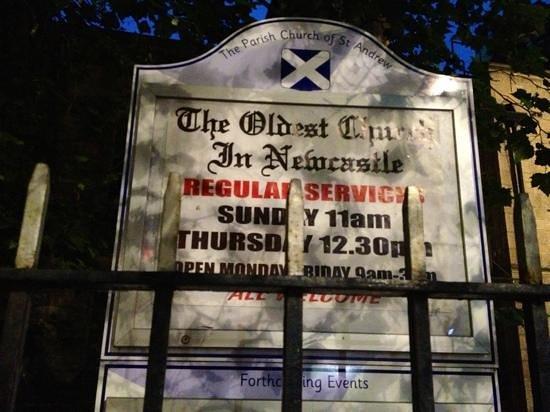 St. Andrew's Church: Sunday 21/07/2013