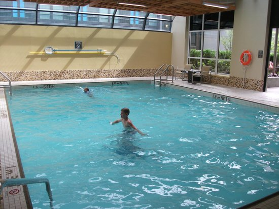 Landis Hotel & Suites: Large, bright swimming pool