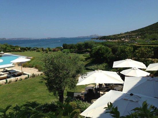 L'ea Bianca Luxury Resort: Aussicht vom Zimmer
