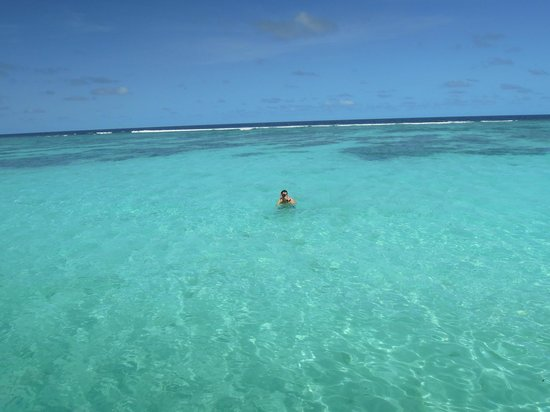 LUX* South Ari Atoll: Water Vila view