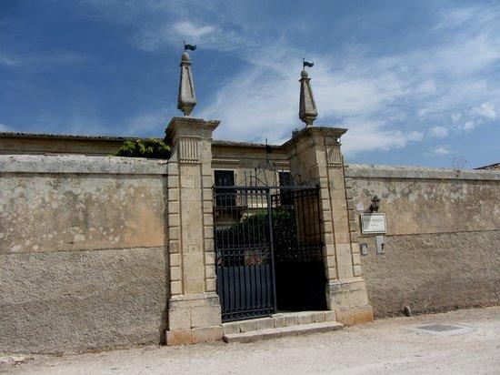 Villa Aguglie : l'ingresso