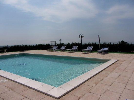 Villa Aguglie : piscina