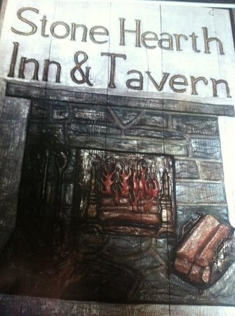 The Stone Hearth Inn: menu cover
