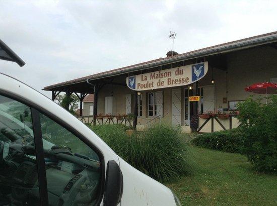La maison du poulet de bresse romenay restaurant avis num ro de t l phone photos tripadvisor - La maison du poulet ...