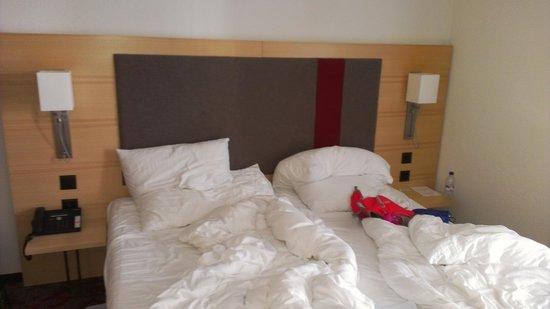 Hotel Testa Grigia : Comfortable clean bed