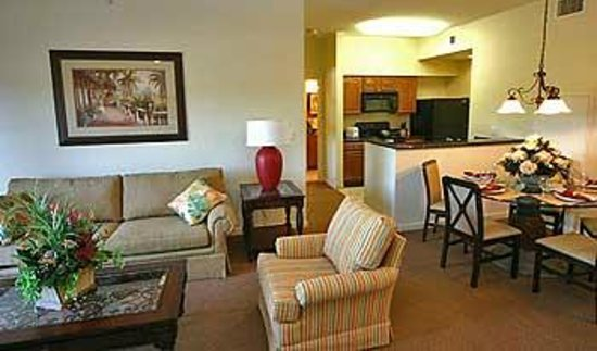 Lake Buena Vista Resort Village & Spa: living area was perfect