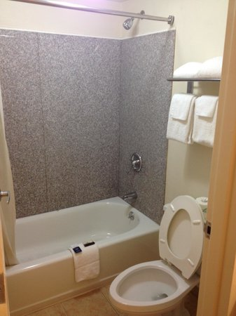 Red Roof Inn Virginia Beach - Norfolk Airport: Very nice, clean bathroom