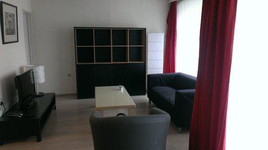 Appart Hotel Corbie : Living room