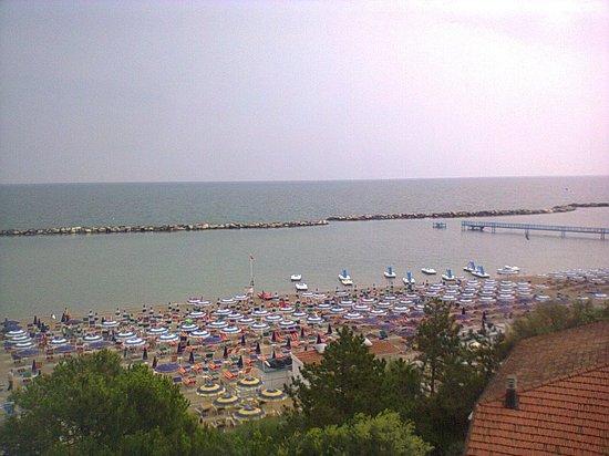 Hotel Internazionale: la vista dal balcone!!!