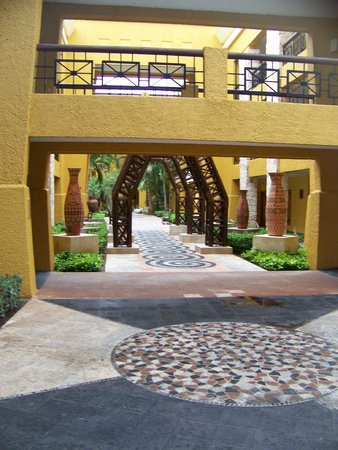 Iberostar Paraiso Maya: Inbetween rooms