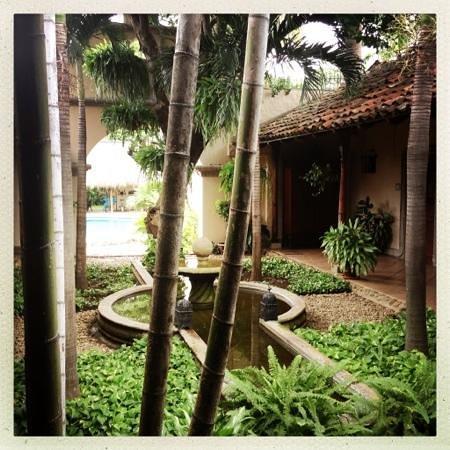 Hotel Los Robles: le patio