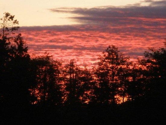 Puffin B and B: Fabulous sunsets!
