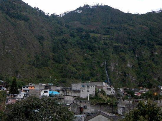 Napolitano Apart & Hotel: The foothills of Tungurahua