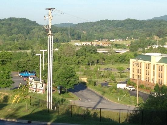 Comfort Suites Kingsport: View from the top of the hill