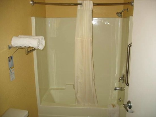 Quality Inn: Excellent shower!!!!!!