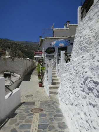 Hotel Estrella de las Nieves : Pampaneira streets