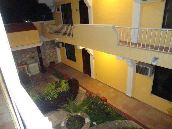 Hotel Real del Mayab: Varanda