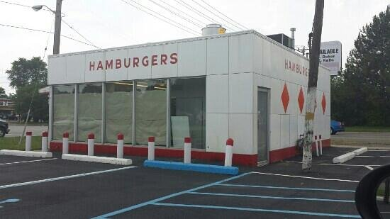 The Giant System Hamburgers: Closed.   Remodeling?