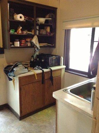 Green Lakes State Park: kitchen