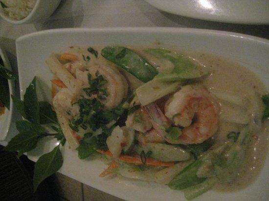 Archie's Wok: Chiang Mai Shrimp dish