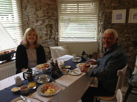 Bakers Thatch Bed and Breakfast: Full English Breakfast