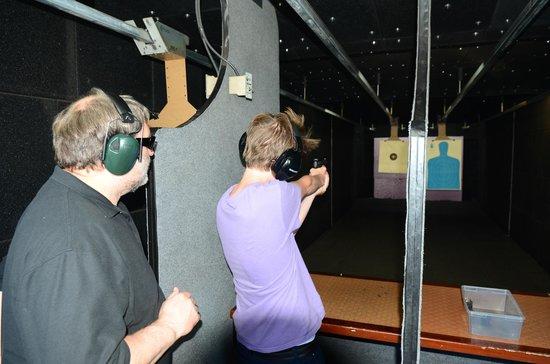 Yellowstone Big Gun Fun: Left a bit.....