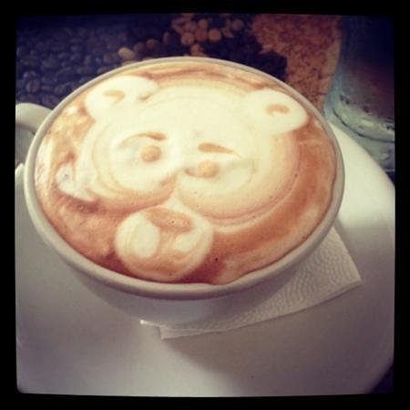 Libelula Coffee Shop: capuchino mocha
