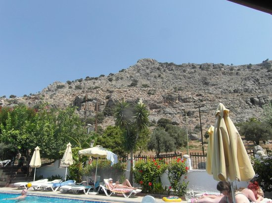 Evi Studios: View from pool area