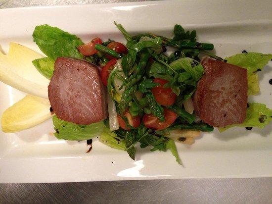 Allegria, Pasta, Salad and Vino: Tuna