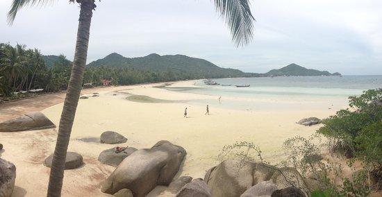 Koh Tao Cabana: Beach view - pretty beautiful