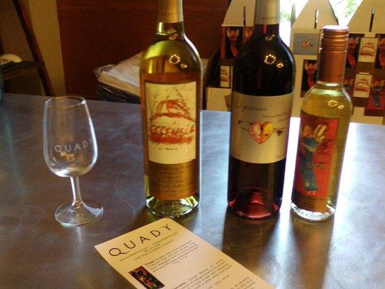 Quady Winery : Wine tasting!