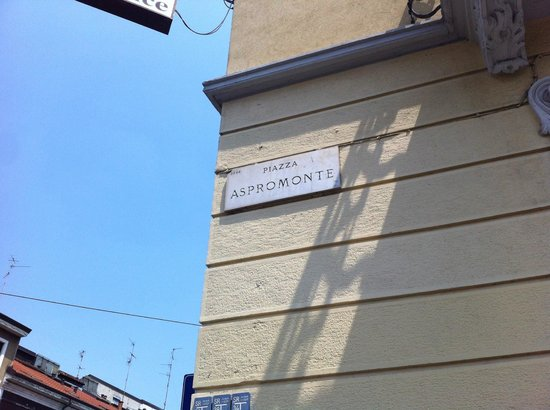 Hotel Florence: Street sign