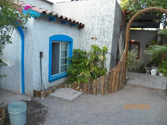 Hotel Posada San Martin: Patio interiro