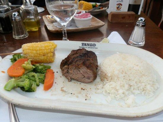 Tango Argentine Grill: Prato principal do Early Bird