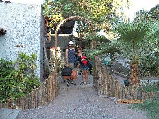Hotel Posada San Martin: arco de pitaya
