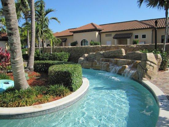 Naples Bay Resort Marina Lazy River Pool