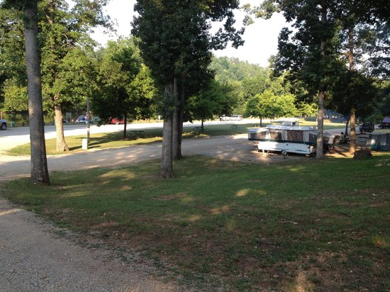 Spring River: Another view of Riverside campground