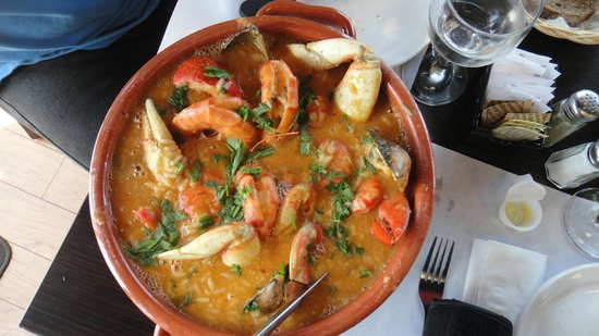 Churrasco of Portugal : Seafood Rice for two