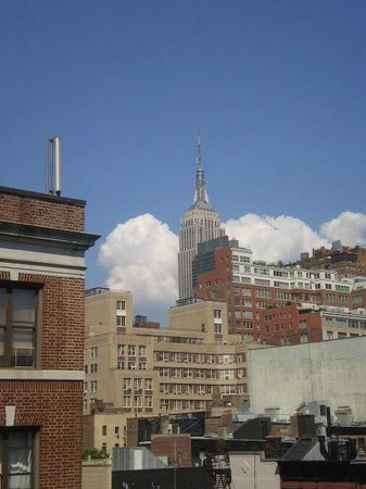 The GEM Hotel Chelsea: Great view from the room