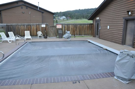 Buck's T-4 Lodge: Hot tub for 30 people/2 units