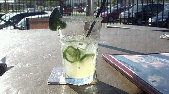 Central Station Bar & Grill: Jalapeno Margarita