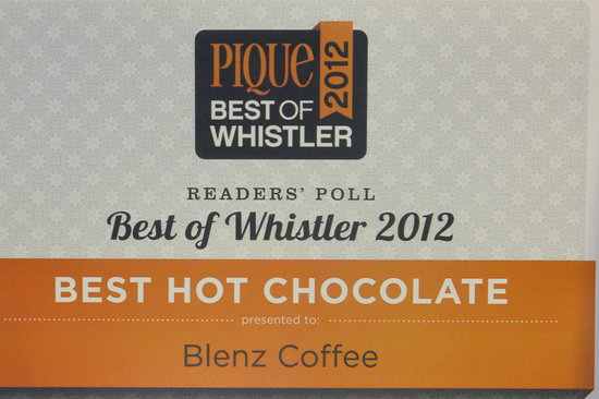 Blenz Coffee Whistler