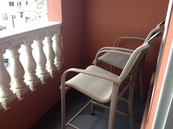 Amelia Hotel at the Beach : Balcony