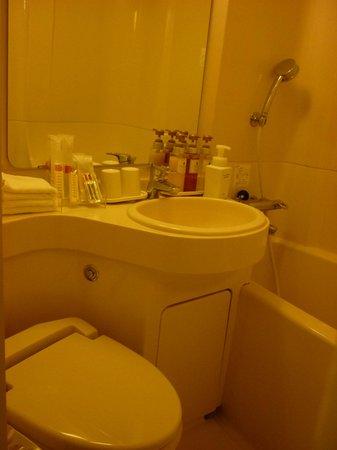 Osaka Tokyu REI Hotel: bathroom