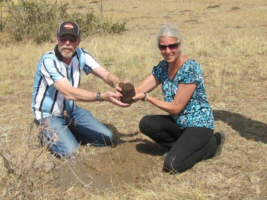 Amani Mara Camp: Every guest plants a tree