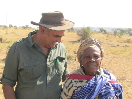 Amani Mara Camp: Ashif - lodge proprietor