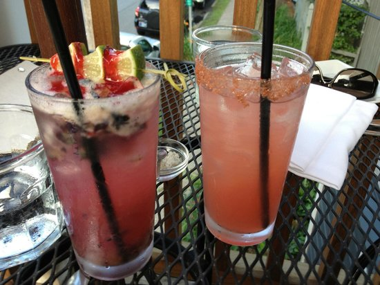 The Local Restaurant and Bar: The special and Pink Salty Dog