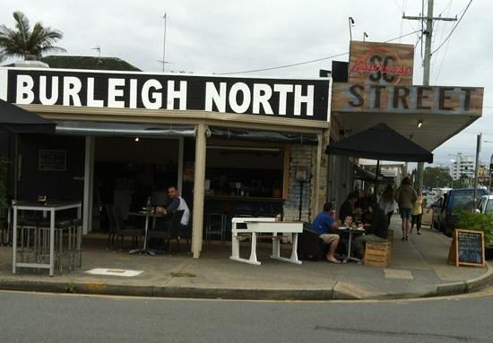 Street Corner Espresso: cool street dining